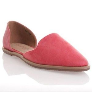 NEW Suede Two Tone Flats
